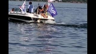 Trump Boat parade MN