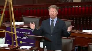Rand Paul Continues Listing Wasteful Government Spending