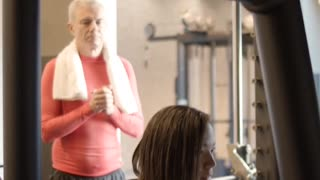 Funny Video Of Man And Woman In A Gym#6