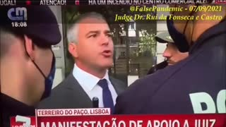 Portugal Police beating people