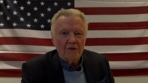 """Jon Voight's Powerful Message To Patriots In America """"Let us keep our faith"""""""