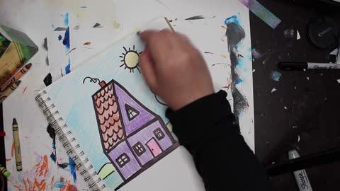 Doodle 3D House