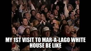 My 1st Visit to Mar-a-Lago White House Be Like