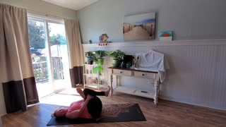 Seated Vinyasa Flow For Grounding and Focus