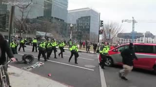 Video They Don't Want You to See: Leftists Destroy DC After 2017 Inauguration