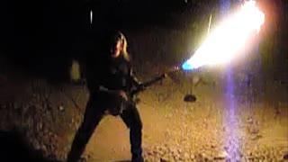 Guitar Flame Thrower