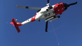 US Coast Guard Rescue from Cruise Ship