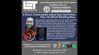 A Direct Conversation About Race And Police. Plus, His Movie Bleeding Blue.