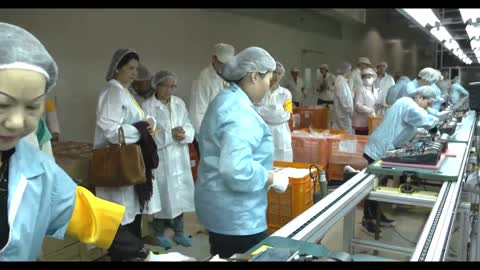 Philippine delegation visited the Smartmatic VCMs factory in Taiwan