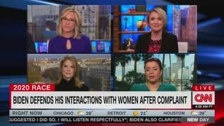 Navarro, CNN laugh about Biden allegations
