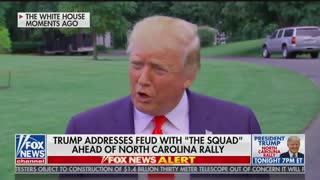 Trump: responds to Q about Omar marrying brother