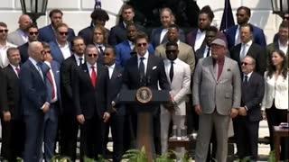 Tom Brady's full speech at the White House