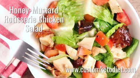 Honey-Mustard Rotisserie Chicken Salad 2