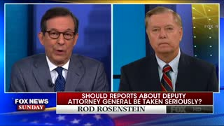 Lindsey Graham: FBI and DOJ waging 'bureaucratic coup' against Trump