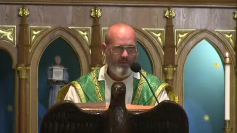 Embrace Our Sacrifices - Sep 12 - Homily - Fr Dominic