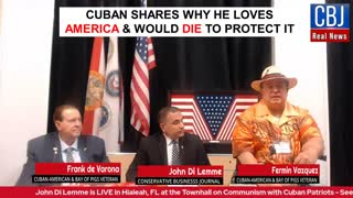 Cuban Shares Why He Loves America and Would Die to Protect Our Nation