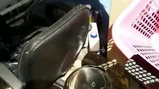 Stainless Steel Stool Causes Smoke