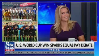 Jesse Watters says US women's soccer team is hurting the pay-gap cause
