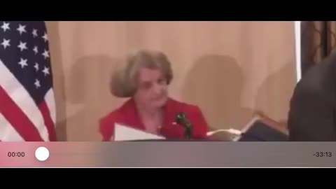 90-year-old woman. Tells her experience with communism.