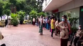 Vacunación al adulto mayor en Bucaramanga.