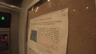 Elevator Warning Near The Sea Destin Florida