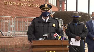 Waterbury Police Give an Update After Officer Injured in Shooting