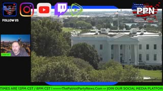 The Patriot Party News Live Stream Special Guest !