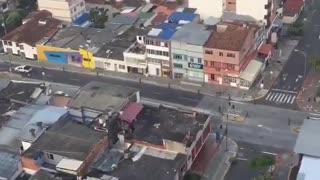 Ejército y Policía patrullaron por las calles de Bucaramanga este miércoles