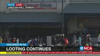 South African Looting Malls