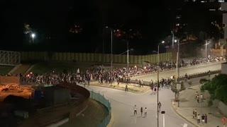 Marcha de las antorchas en Bucaramanga