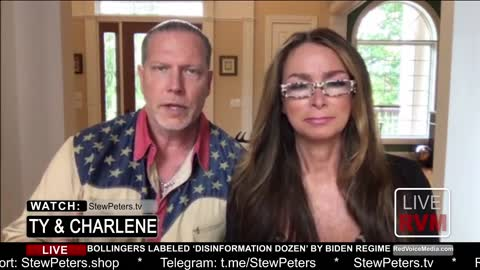 Ty and Charlene Bollinger Targeted by Biden Regime, Threatened with IP Removal!