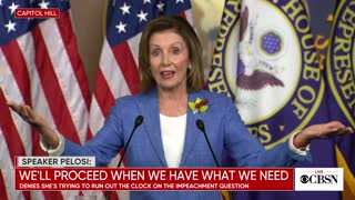 Pelosi talks about meeting with AOC