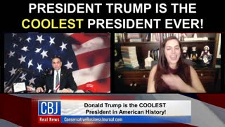 President Trump is the COOLEST President Ever!