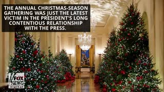White House Cancels Annual Press Christmas Party