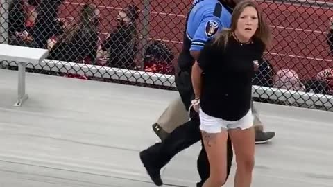 Mother TAZED & ARRESTED for NO MASK at football game!