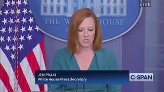 WATCH: Jen Psaki Unveils Biden Admin Plan to Go Door to Door to Unvaccinated