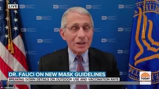 Fauci Twists Brain in Knots Explaining Why Children Should Wear Masks Outside