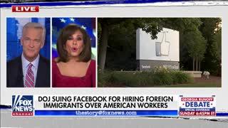 DOJ Suing Facebook