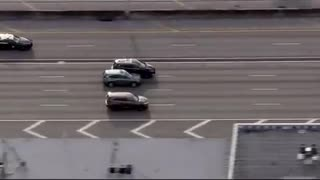 5 juveniles in stolen SUV that crashes, rolls over during police chase on Florida's I-95
