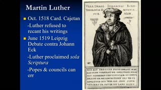 Martin Luther: The Indulgence Controversy