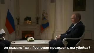 Putin answered a question about being called a 'Killer'