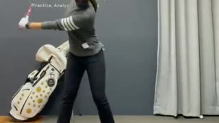 Golf drill - practice swing