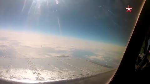 Aviones rusos interceptan aviones espías norteamericanos en Ukrania