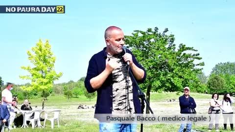NO PAURA DAY 22, Cesena 8/5/2021, intervento di Pasquale Bacco (medico legale)