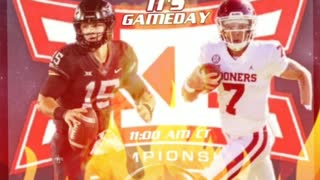 VIDEO OPTION #2 FOR GAMEDAY OF BIG 12 TITLE GAME