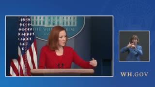Jen Psaki Answers Questions On The Border Crisis