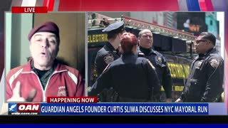 Guardian Angels Founder Curtis Sliwa Discusses NYC Mayoral Run