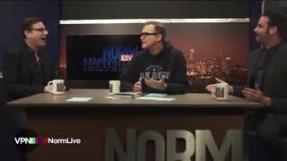 Norm MacDonald with Bob Saget