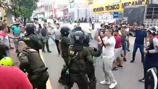 Protestas en el norte de Bucaramanga
