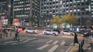 Seoul South korea Street Gang nam Station Street
